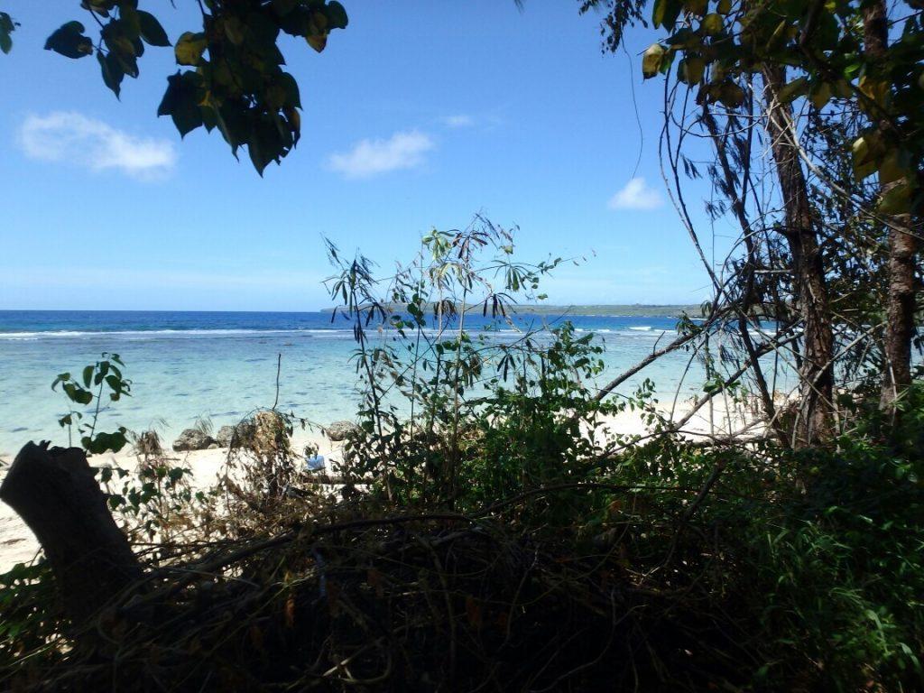 サイパンに海外旅行した時の海の写真