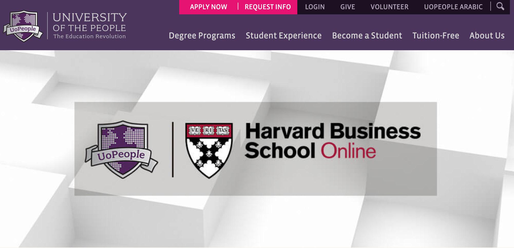 University of the Peopleがハーバード大学と提携