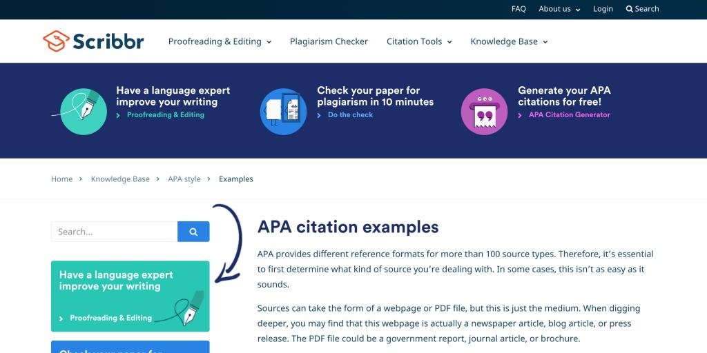 American-Psychological-Association-Website