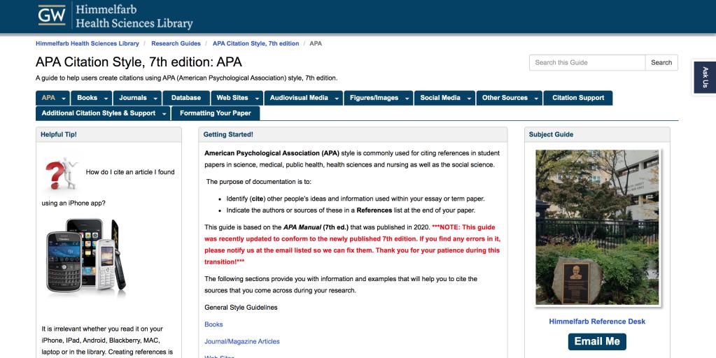 The George Washington University公式ウェブサイト
