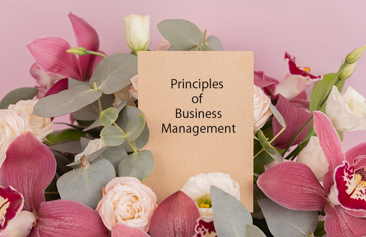 Principles of Business Managementのリーディング用の本