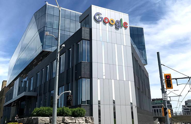 Google社の外観