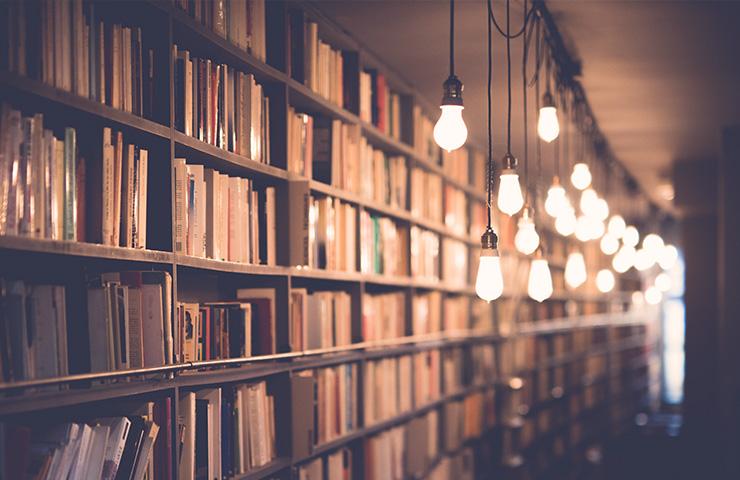 大学の図書室