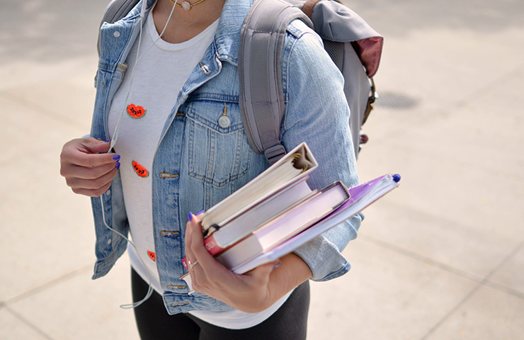 若い大学生