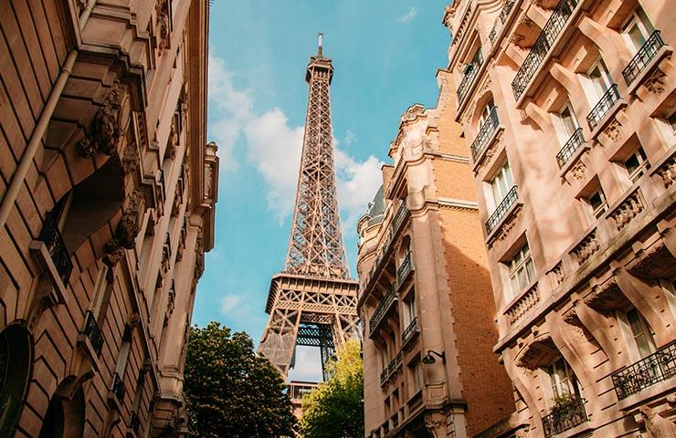 フランス・パリのエッフェル塔