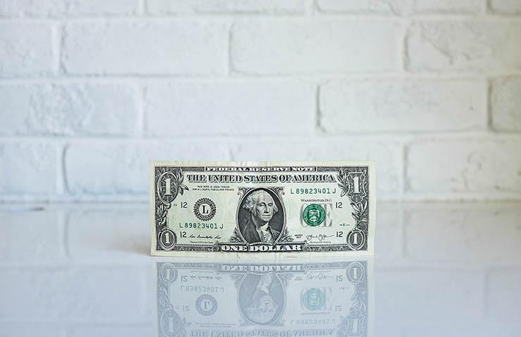 1ドル札(USD)