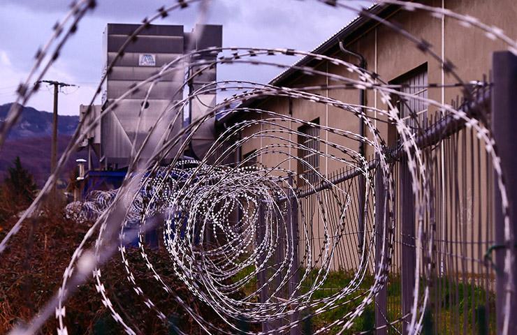 刑務所の写真(スペイン女子刑務所のイメージ)