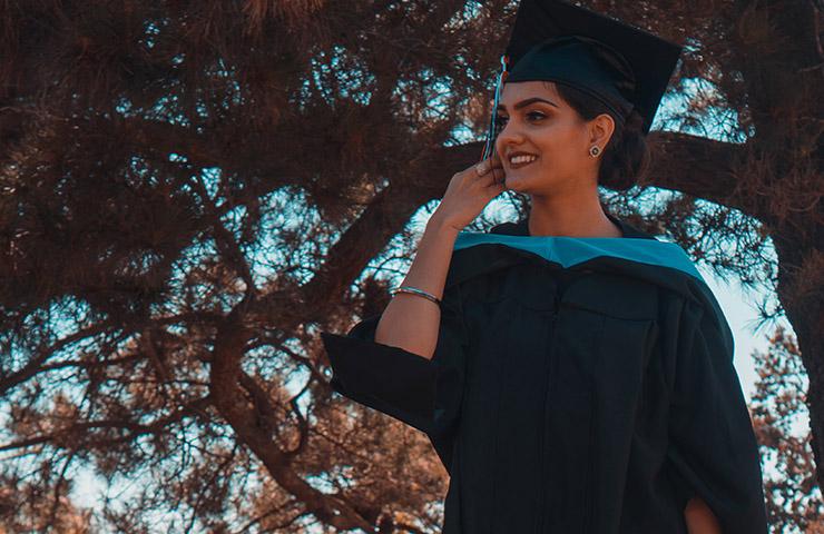 大学のHonor student