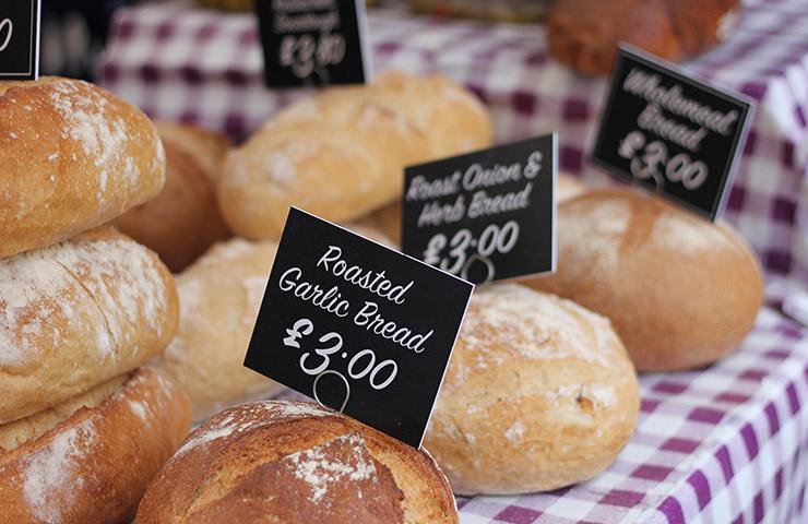 パンの物価水準