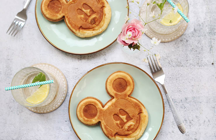 ディズニーパンケーキ