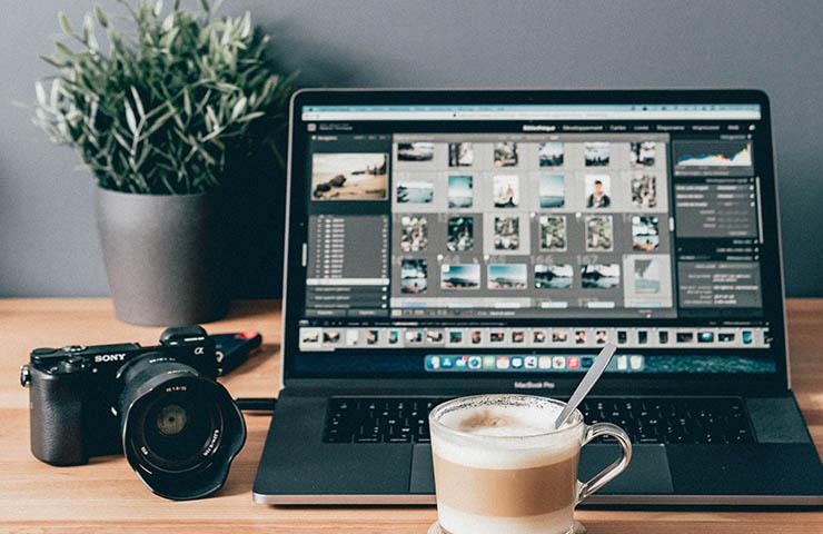 Adobeの編集画面