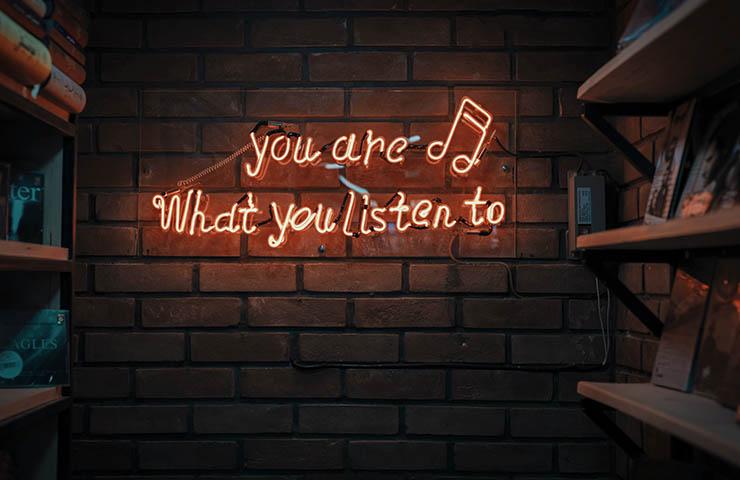 音楽リスナーへのメッセージ