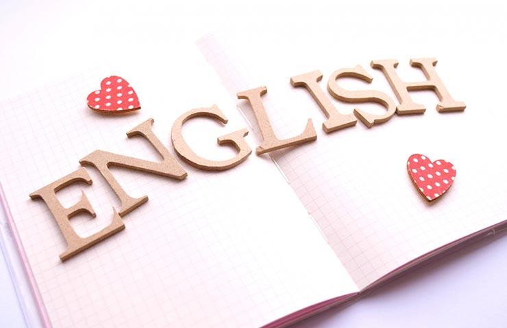 English(英語)の文字