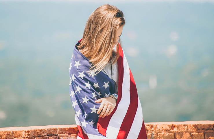 アメリカ人女性